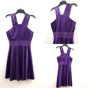 NEW Jodi Kristopher Velvet Dress